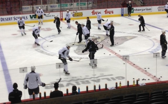Morning skate in Glendale