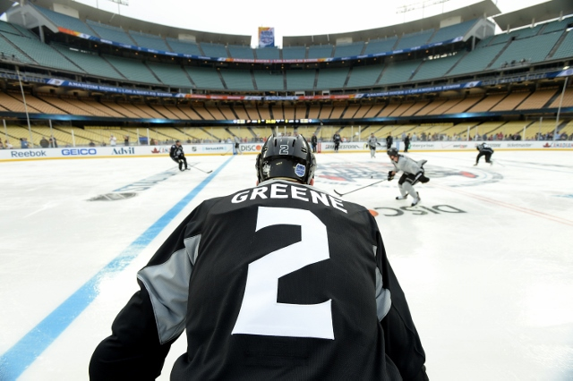 2014 Coors Light Stadium Series Los Angeles Kings Practice