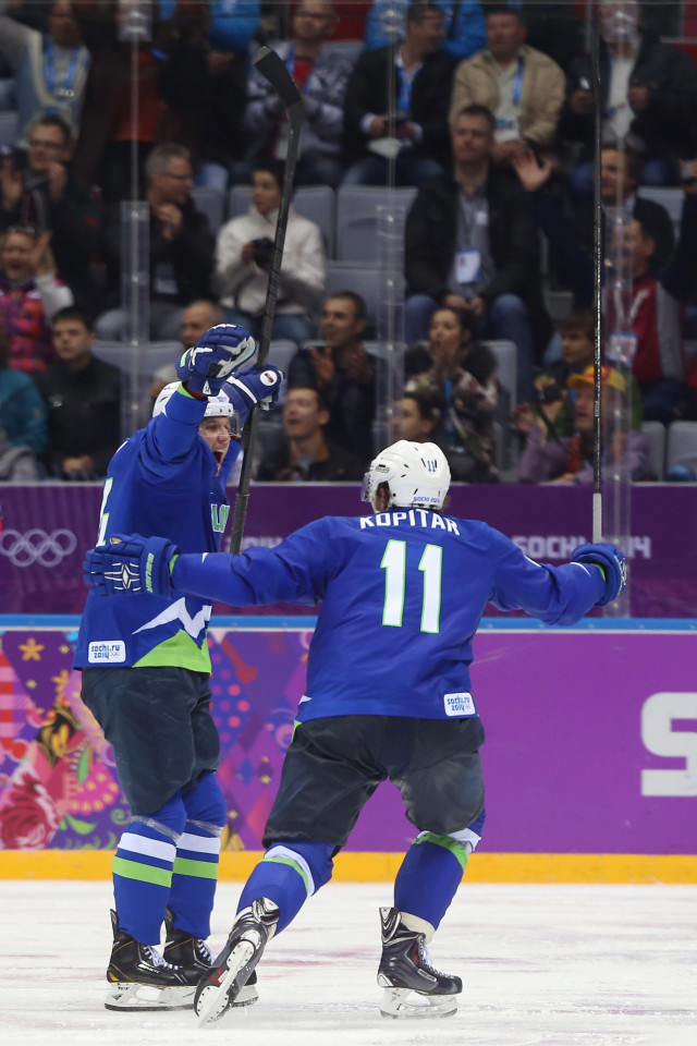 Ice Hockey - Winter Olympics Day 8 - Slovakia v Slovenia