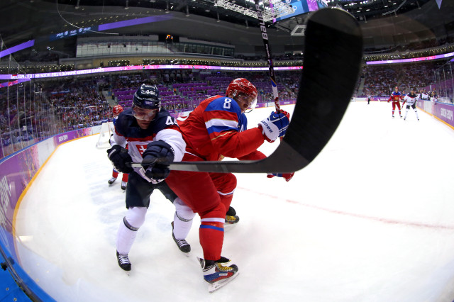 Ice Hockey - Winter Olympics Day 9 - Russia v Slovakia