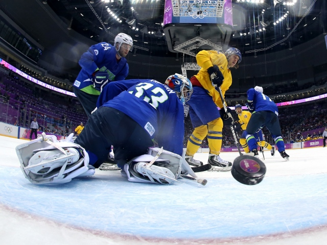 Ice Hockey - Winter Olympics Day 12 - Sweden v Slovenia
