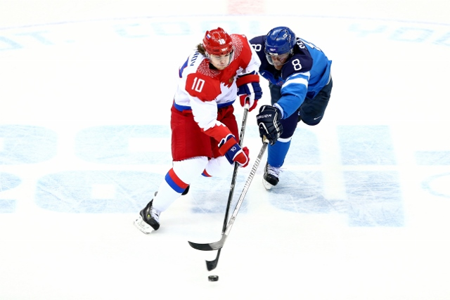 Ice Hockey - Winter Olympics Day 12 - Finland v Russia