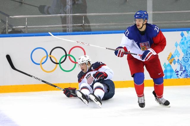 Ice Hockey - Winter Olympics Day 12 - United States v Czech Republic