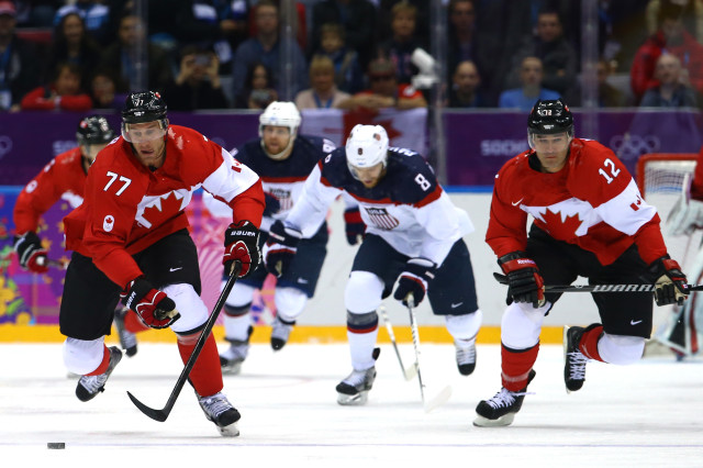 Ice Hockey - Winter Olympics Day 14 - United States v Canada