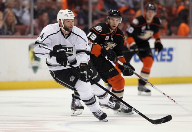 Los Angeles Kings v Anaheim Ducks - Game One