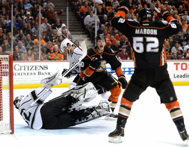 Los Angeles Kings v Anaheim Ducks - Game Two