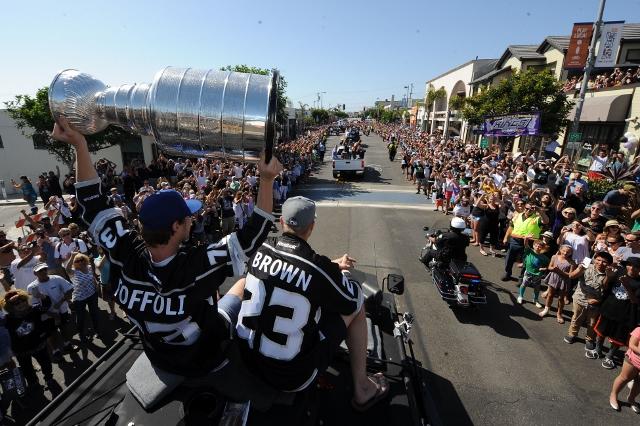 Los Angeles Kings South Bay Victory Parade