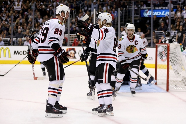 Chicago Blackhawks v Los Angeles Kings - Game Four