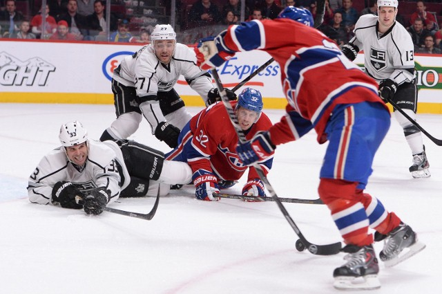 Los Angeles Kings v Montreal Canadiens