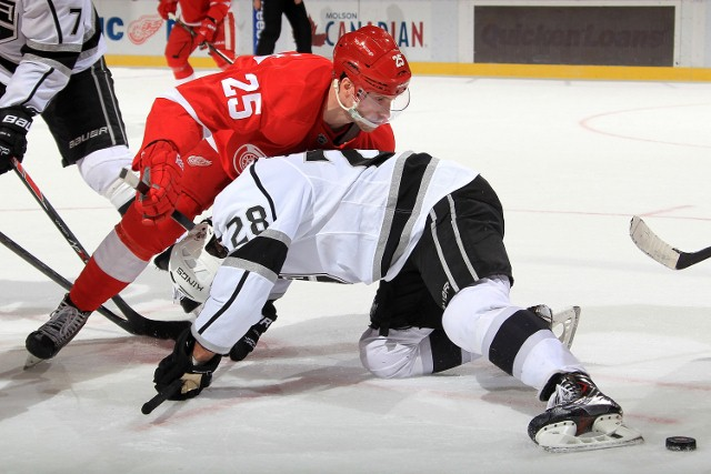 Los Angeles Kings v Detroit Red Wings