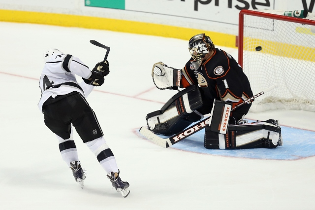 Los Angeles Kings v Anaheim Ducks