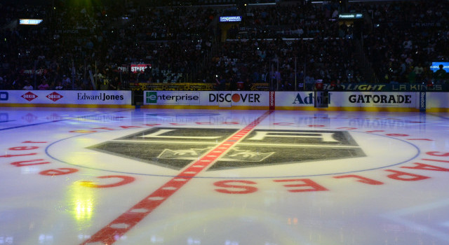 There S Staples Center Ice In San Jose Anaheim Chicago La Kings