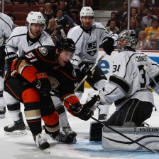 9/28/2014: Anaheim Ducks vs Los Angeles Kings preseason