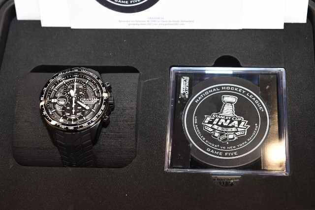 Graham LA Kings Watch Presentation