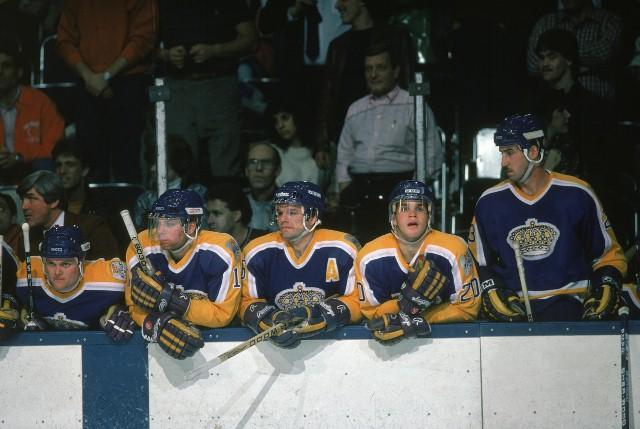 LA Kings Bench