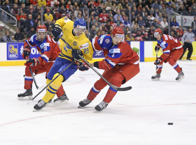 Russia v Sweden - 2015 IIHF World Junior Championship