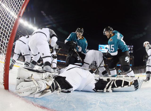2015 Coors Light Stadium Series - Los Angeles Kings v San Jose Sharks