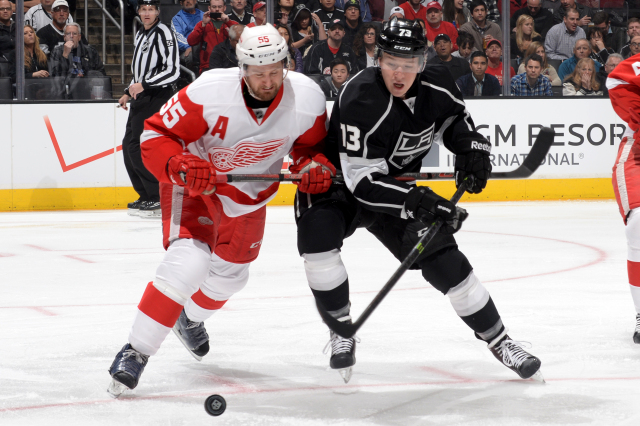 Detroit Red Wings v Los Angeles Kings
