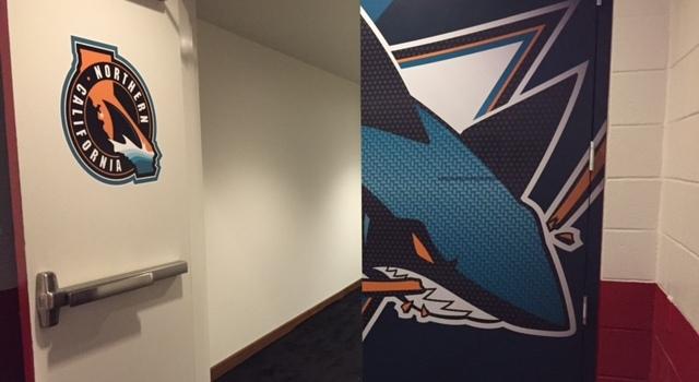 Sharks Dressing Room