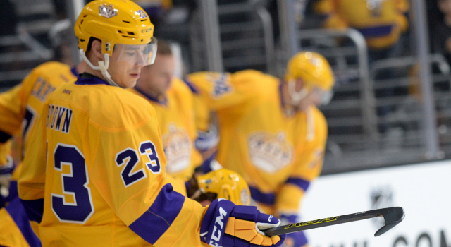sneakers for cheap d6fe9 b61c0 Kings to wear gold for Legends Nights, road game - LA Kings ...