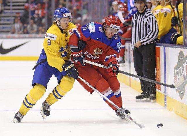 Team Russia v Team Sweden