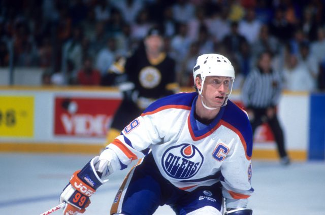 1988 Stanley Cup Finals:  Boston Bruins v Edmonton Oilers