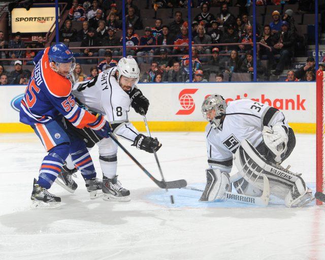 Los Angeles Kings v Edmonton Oilers