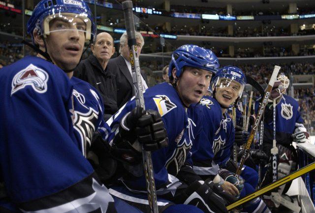 NHL Allstar Game X Sakic