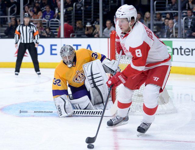 Detroit Red Wings v Los Angeles Kings