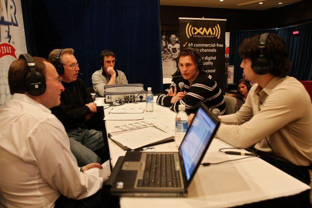 NHL Youngstar Media Availablity