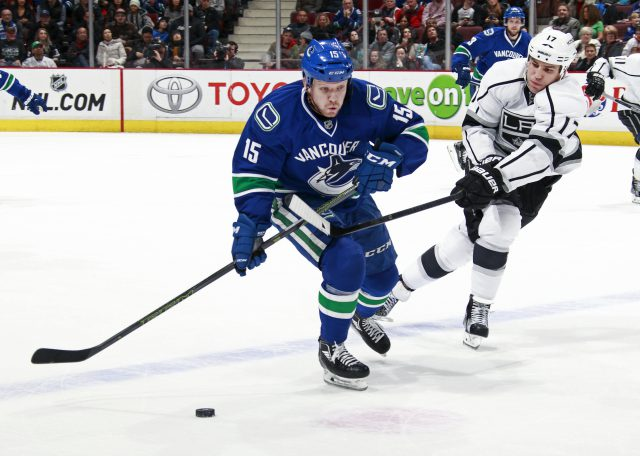 Los Angeles Kings v Vancouver Canucks