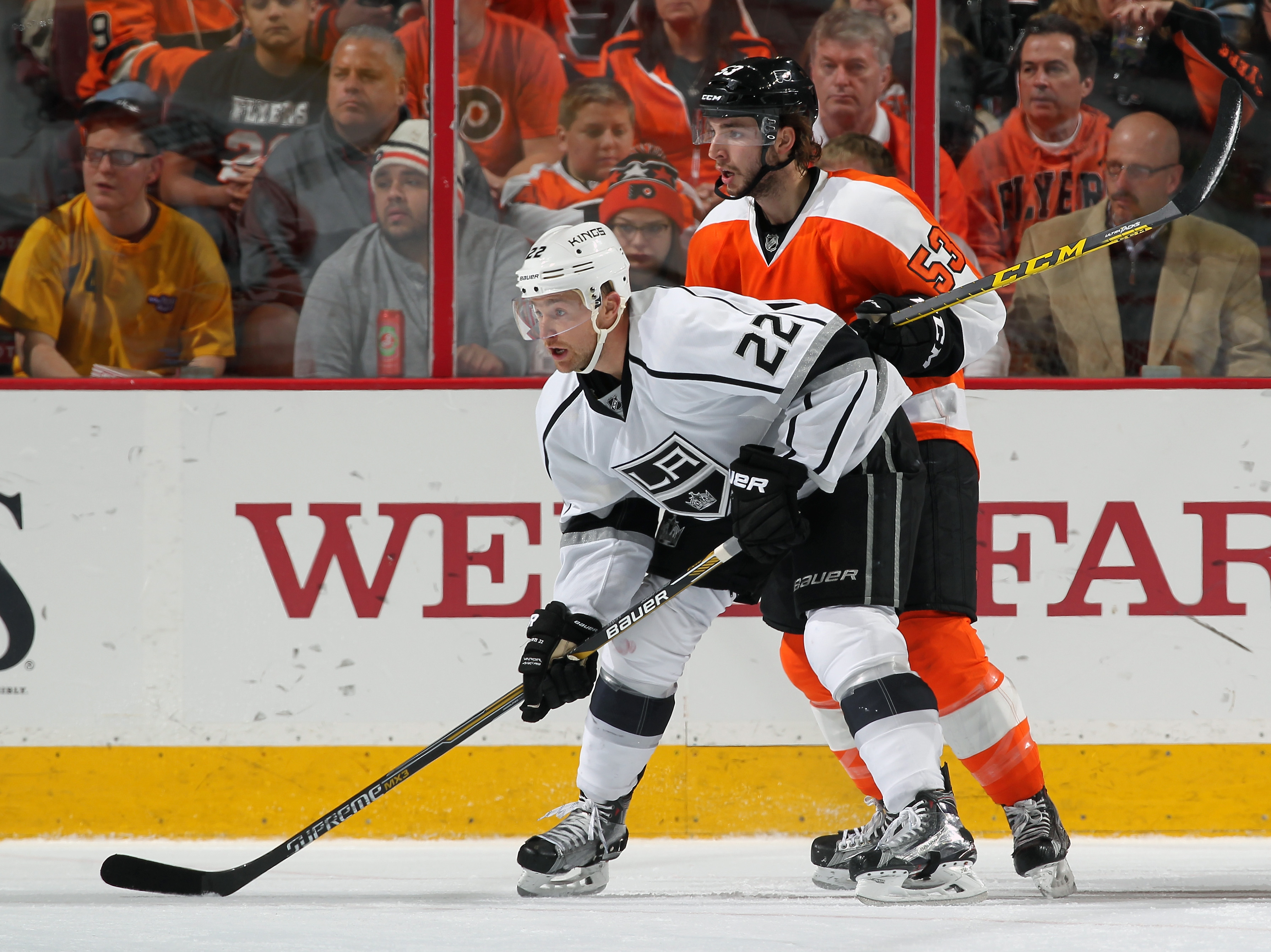 Los Angeles Kings v Philadelphia Flyers