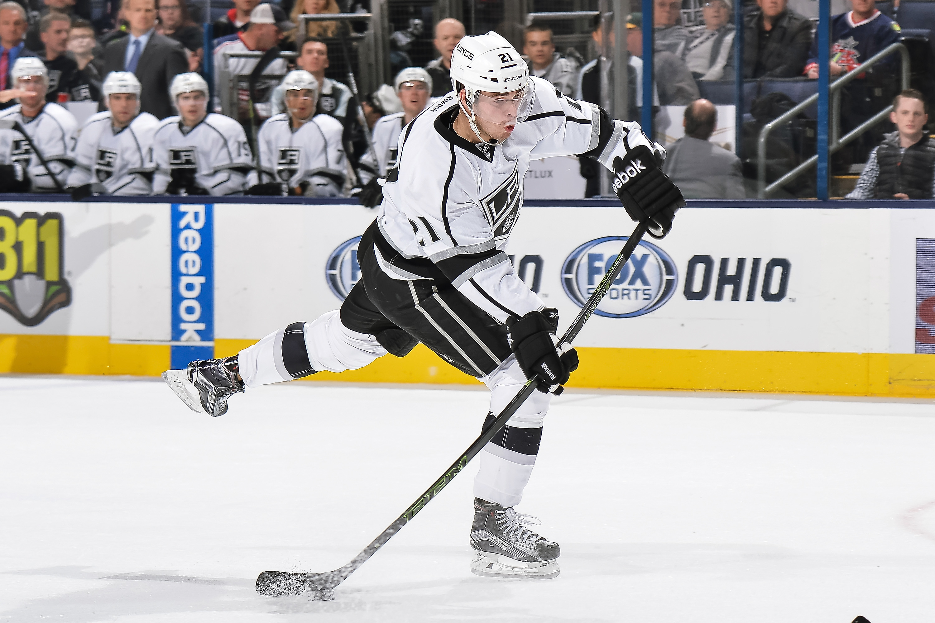 Los Angeles Kings v Columbus Blue Jackets