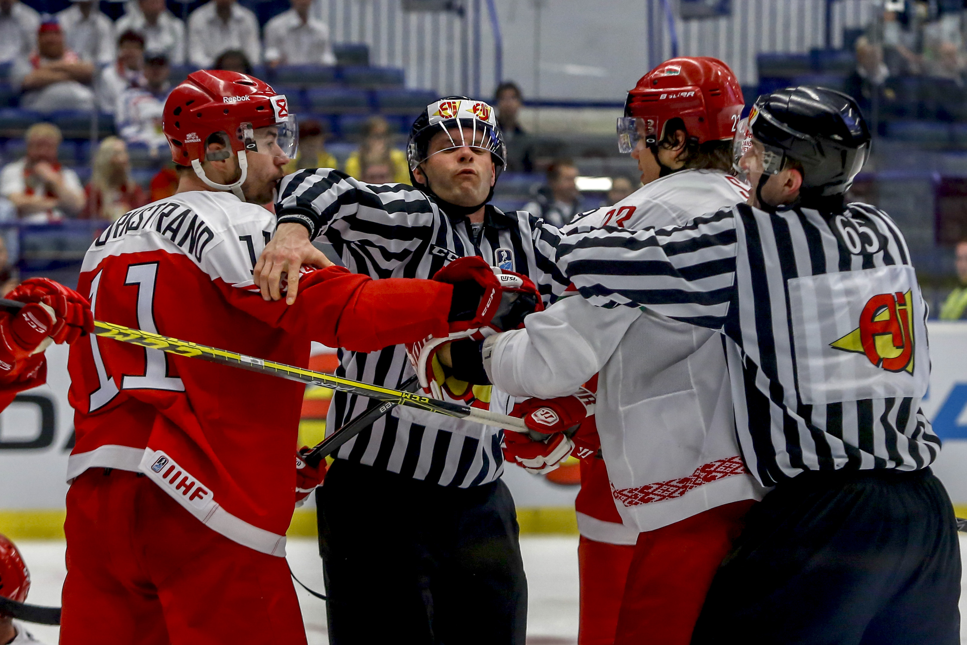 Denmark v Belarus - 2015 IIHF Ice Hockey World Championship