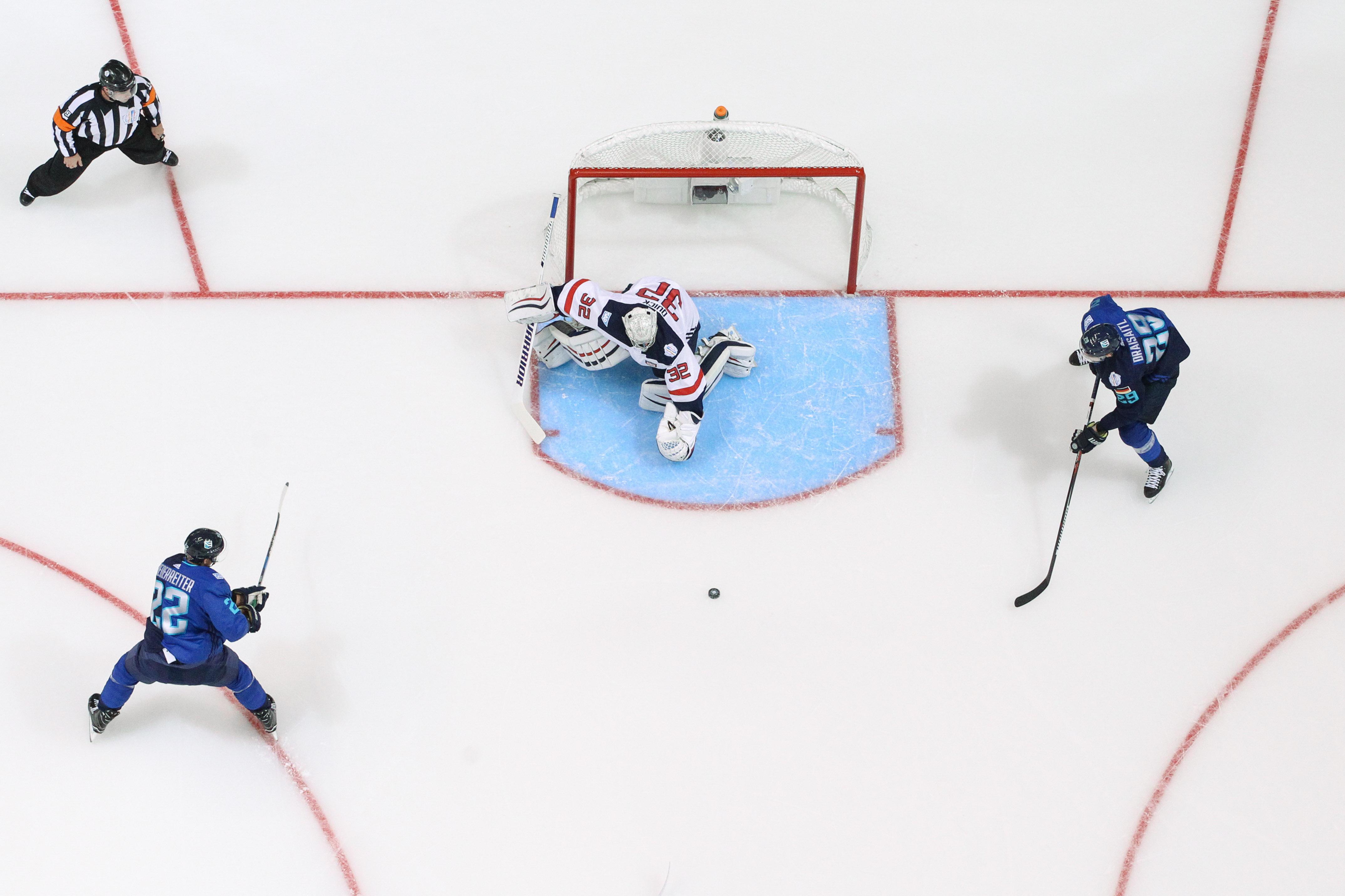 World Cup of Hockey - USA v Europe