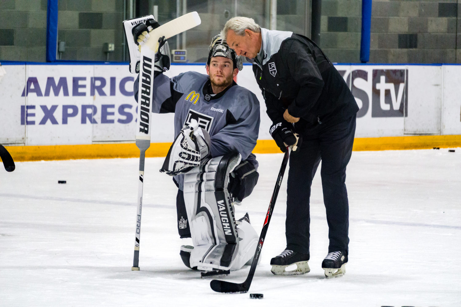 February 15 practice notes; Nolan skates for first time ...