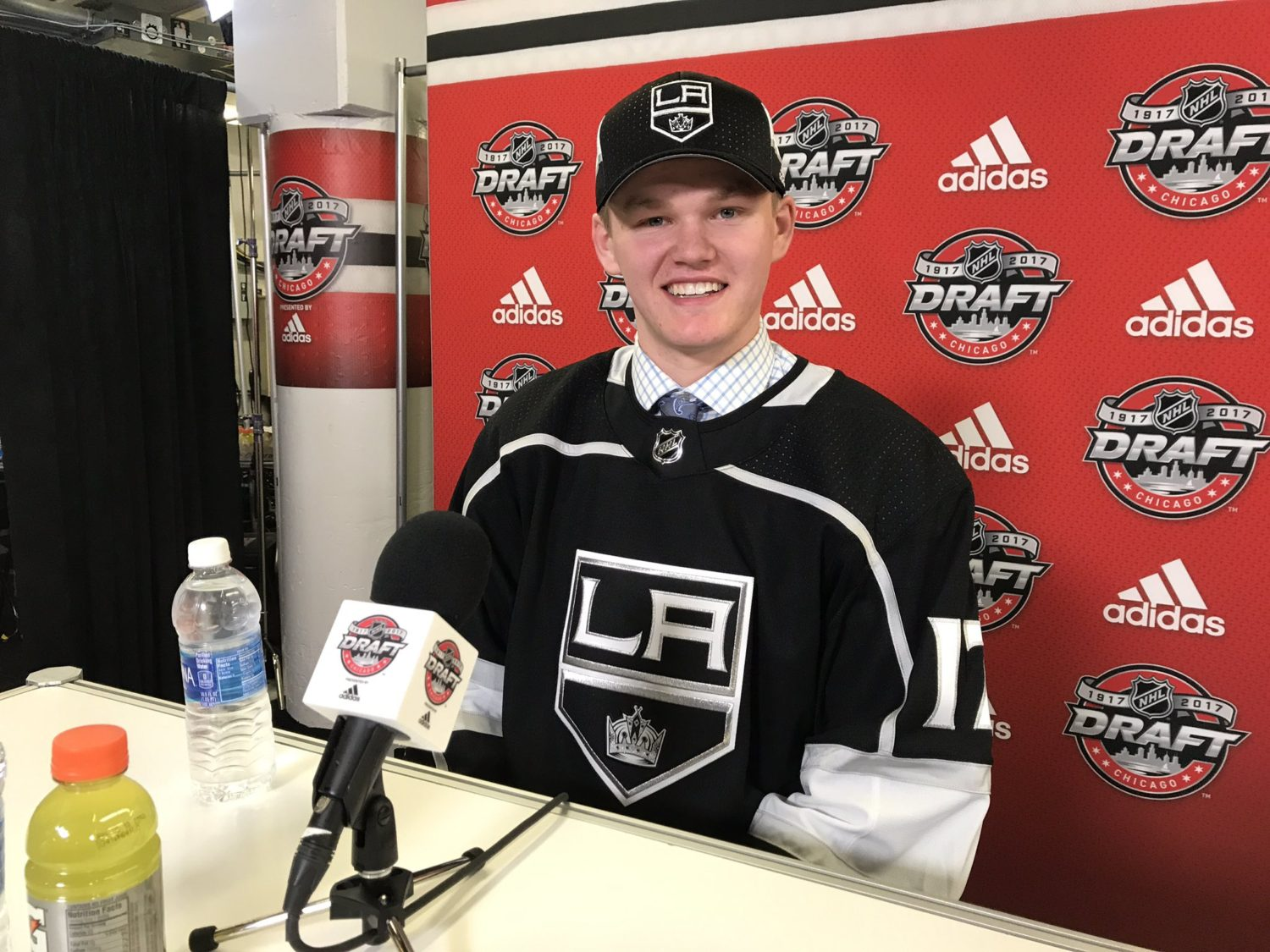 At 103 kings select mikey anderson hfboards nhl - Hfboards kings ...