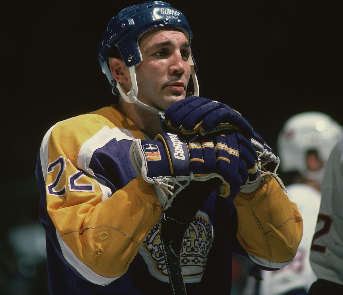 check out df59b 7d4a7 Dave 'Tiger' Williams On The Ice - LA Kings Insider