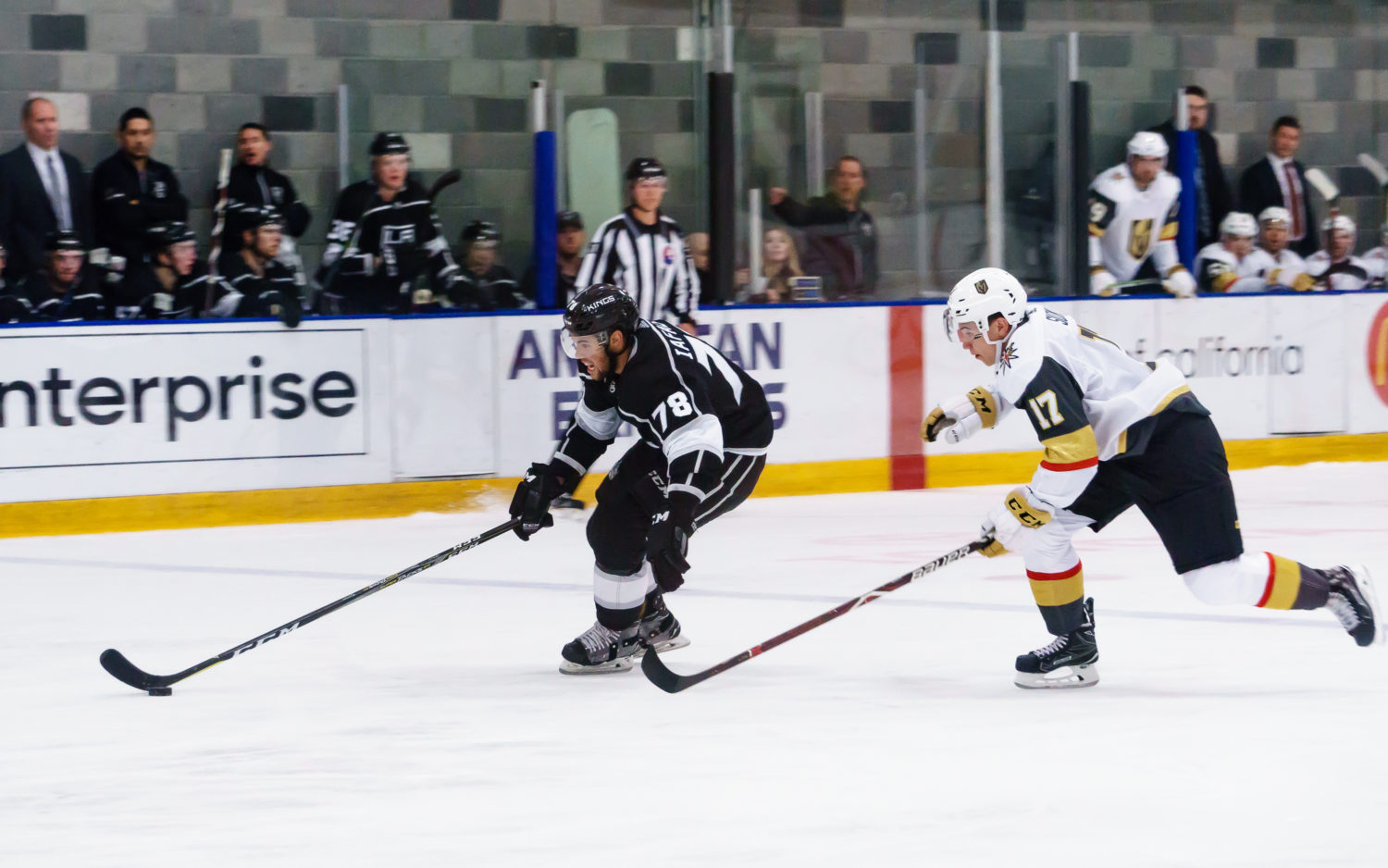 Kings Taking Part In Six Team Vegas Rookie Tournament Old Photos
