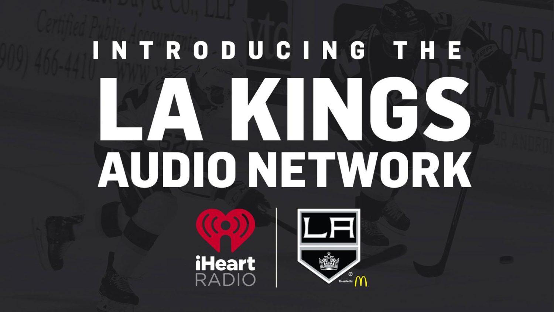 Kings departing AM radio, creating LA Kings Audio Network on iHeart