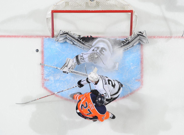Game 25: Los Angeles at Edmonton