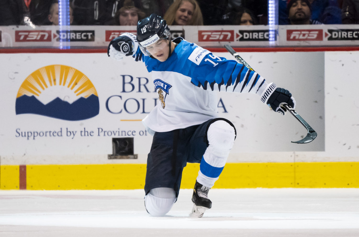 Luukkonen wins world junior gold with Team Finland