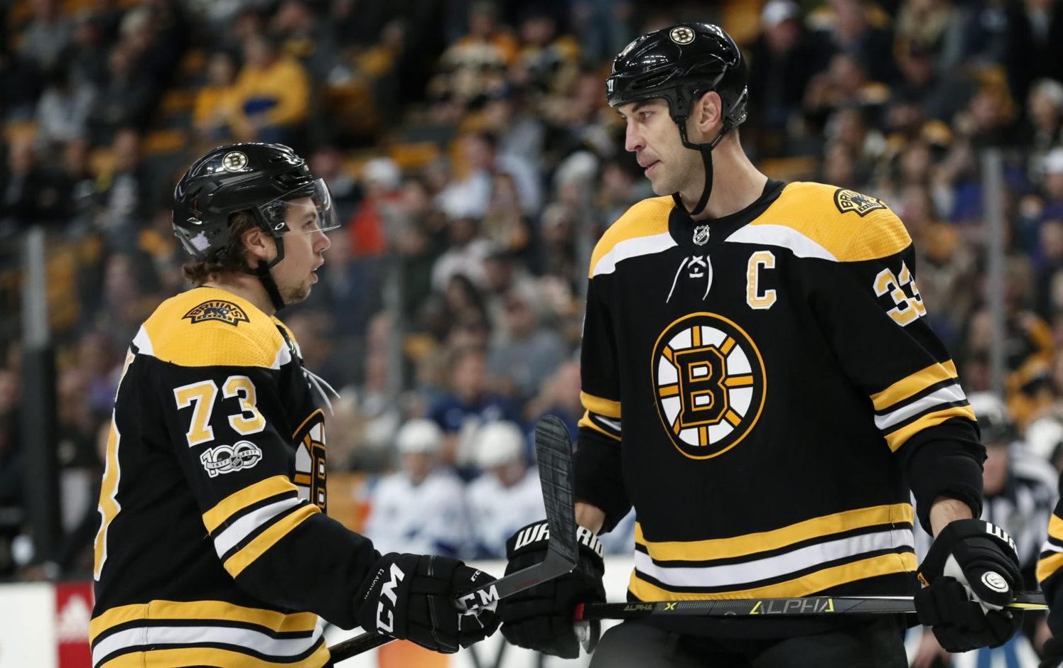 Bruins honour Bergeron with ceremony for 1,000th game