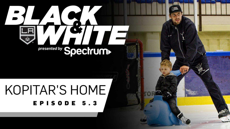 Video: Black and White - Kopitar's Home (+ NHL Network, LA Kings Production vids) - LA Kings Insider