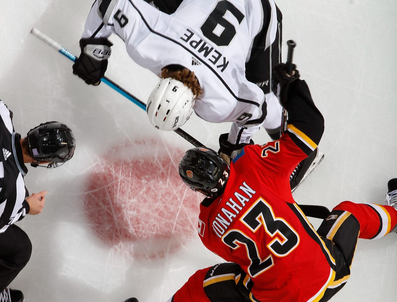 Kings' Drew Doughty taunts Flames fans 'suck my d---' after winning goal