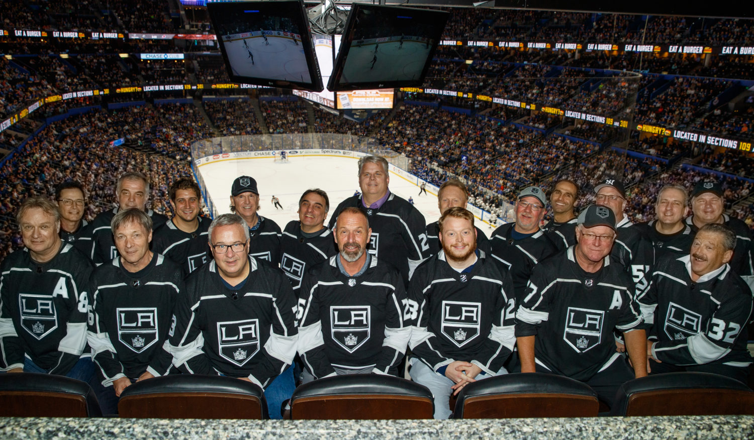 Photos: Dads, brothers in Florida - LA Kings Insider